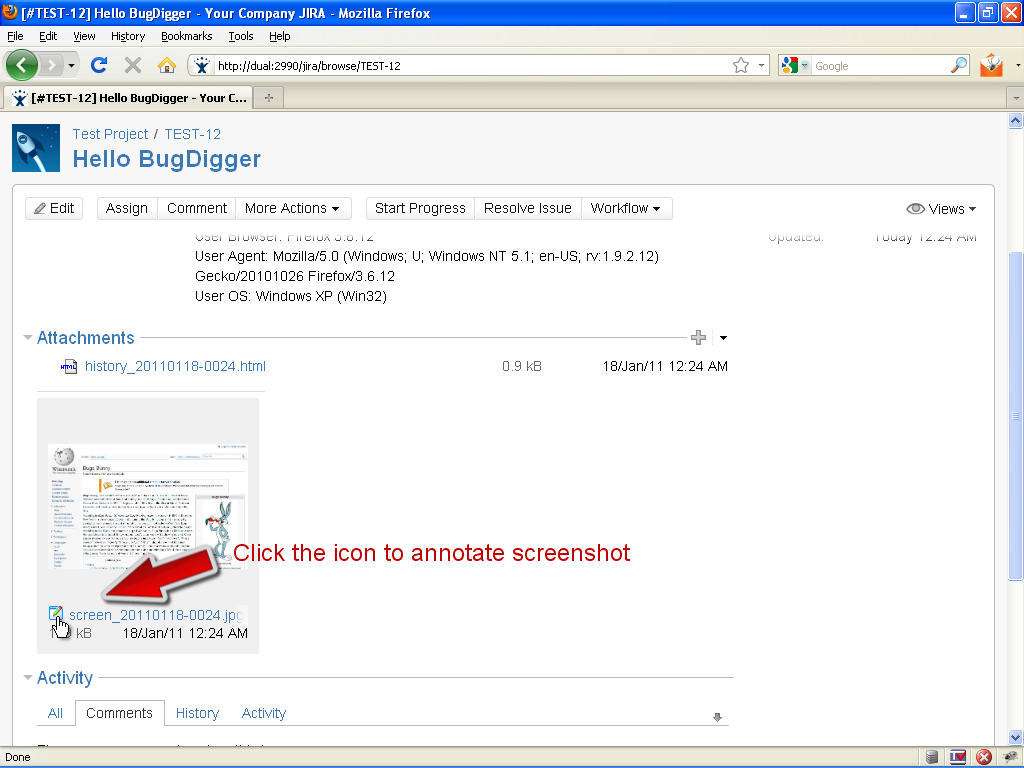 BugDigger for JIRA